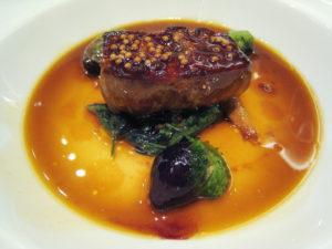 foie gras hongrois poelé