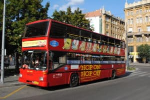 bus budapest hop