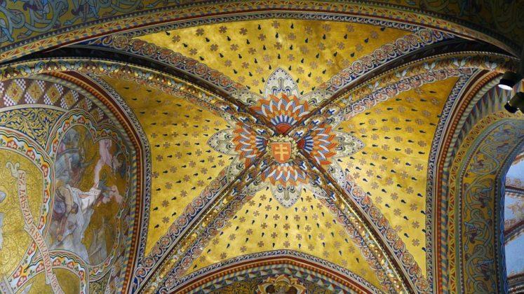 plafond église Matthias