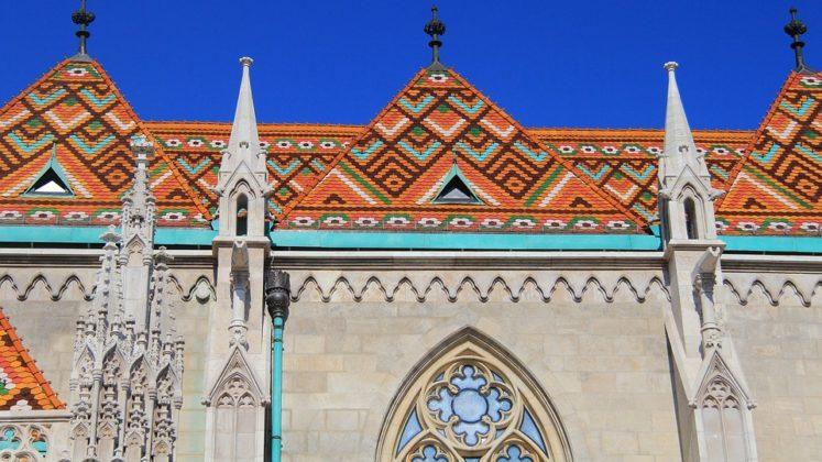 église Matthias toit