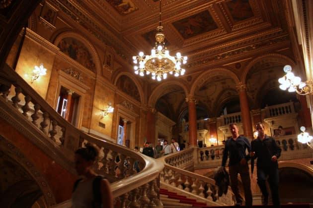 visite opéra de Budapest