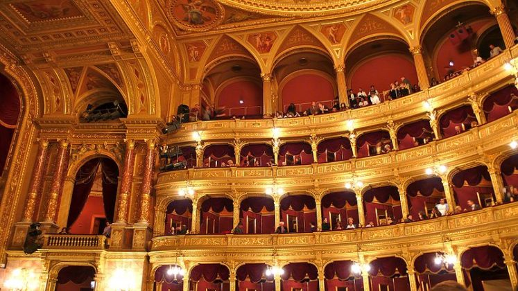 auditorium opéra de Budapest