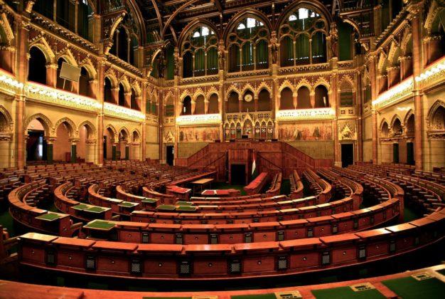 intérieur parlement hongrois