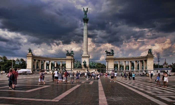 budapest place des heros