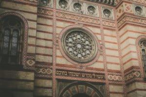 Facade Synagogue de Budapest