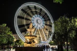 Place Erzsébet - visiter Budapest