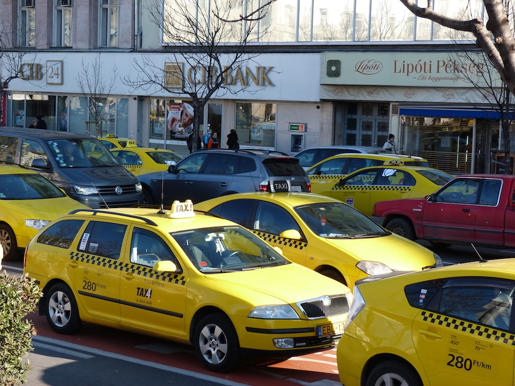 taxi a Budapest