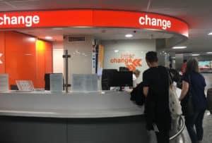 bureau de change aeroport budapest
