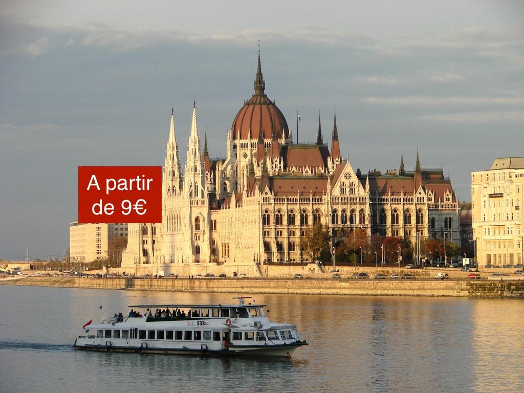 croisière à Budapest sur le Danube