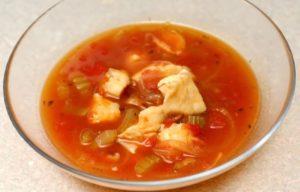 cuisine hongroise Soupe Halászlé