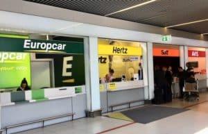 location de voiture aéroport de Budapest