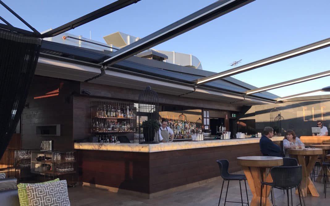 Rooftop bar de Budapest