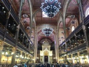 Intérieur Synagogue de Budapest