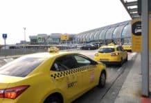 Taxi à l aéroport de Budapest